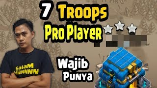 7 Pasukan Clash Of Clans Yang Harus Kalian Punya Untuk Jadi Pro Player COC INDONESIA
