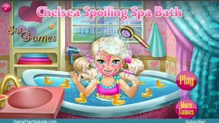 Chelsea Spoiling Spa Bath Makeover Game - Baby Girl Games