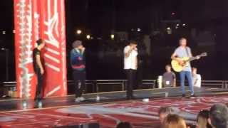 Night Changes Soundcheck - The Today Show: 1D Orlando. 11/17/14