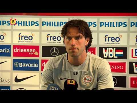Ernest Faber ontspannen voor Heerenveen - PSV