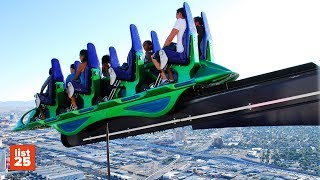 25 SCARIEST Amusement Park Rides In The World