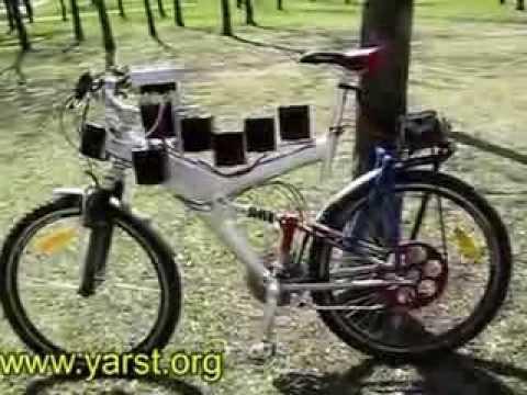 Велосипед электрический своими руками