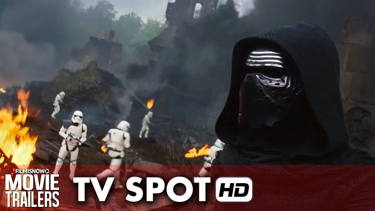 Star Wars: The Force Awakens TV Spot 'Finn' (2015) HD