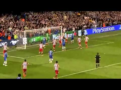 "Thibaut Courtois ""impossible save"" Chelsea vs Atletico Madrid 1-3 