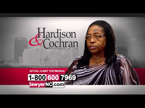 Greensboro, NC Workers' Compensation Lawyer - Hardison & Cochran Client Testimonial