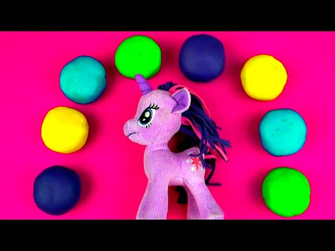 My Little Pony Play-doh Surprise Eggs Littlest Pet Shop Mickey Angry Birds Sesame Street Fluffyjet video