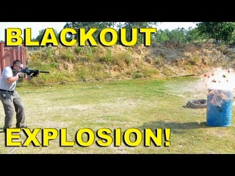 Blackout Explosion! Rise of the 300 AAC BLACKOUT