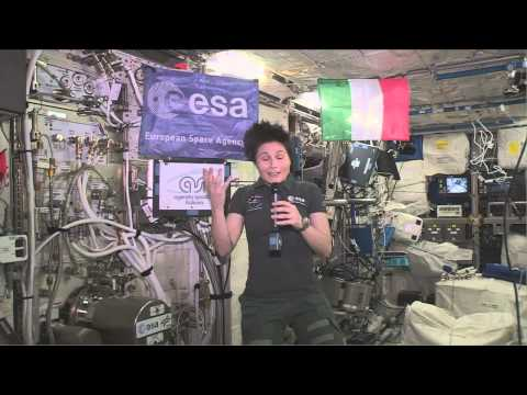 Space Station Crew Member Discusses Life in Space with the Italian Prime Minister