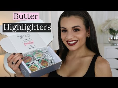Physicians Formula Butter Highlighters   Review. Demo. Swatches