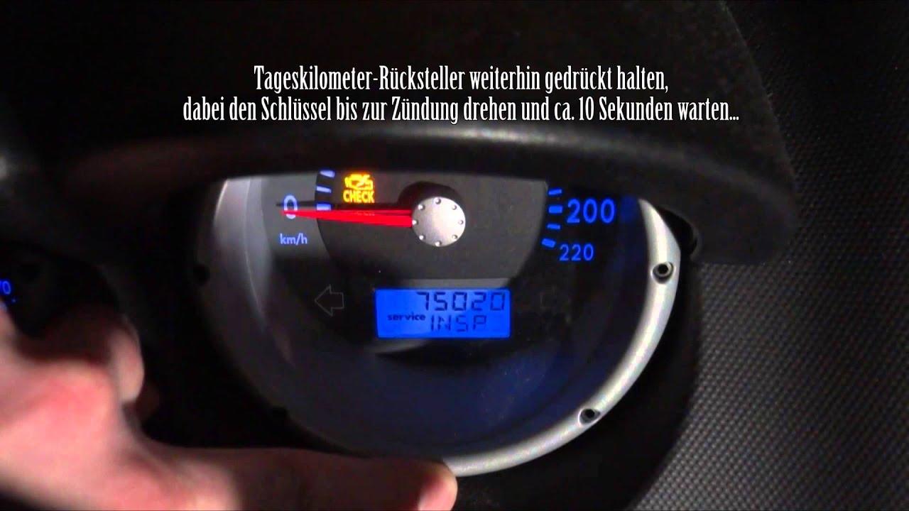 Service Intervall Zur 252 Cksetzen Vw Lupo Polo 6n 2 Golf 4 Iv