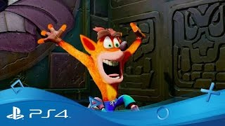 Crash Bandicoot N. Sane Trilogy - The come back trailer | Disponible | PS4