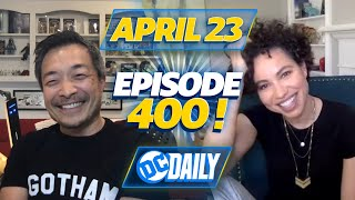 Jim Lee Comic Book Charity & Jurnee Smollett Interview | DC Daily #400