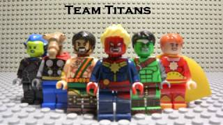 Lego Marvel Tournament of Legends: Meet the Teams #1 (Cosmic Region) (Infinity War, Captain Marvel)