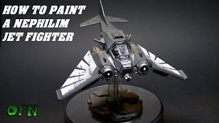 How to paint a Nephilim Jetfighter
