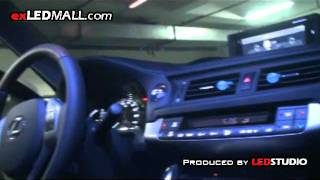 LEXUS CT200h LED TUNING by exLEDMall.com
