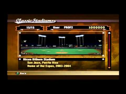 MVP Baseball 2005 Rewards 15 Classic Stadiums Available From The Developers