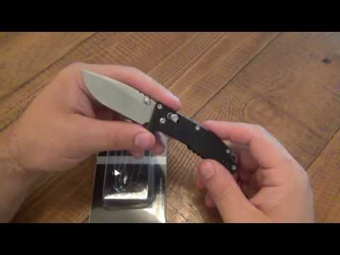 Knife Review : Sanrenmu Model 763 (Axis Lock)