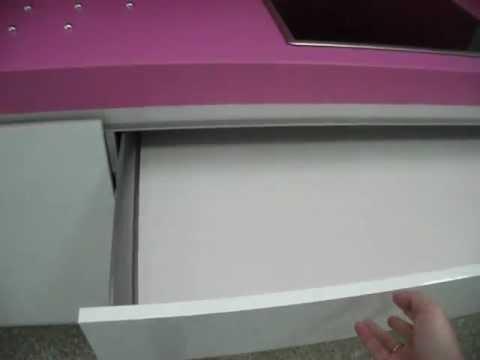 Mueble tv blanco lacado
