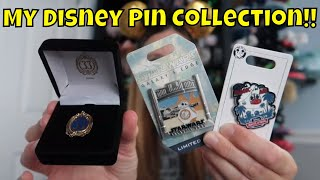 My Disney Pin Collection Part 2!  - I'm A Disney Pin Collector Now!