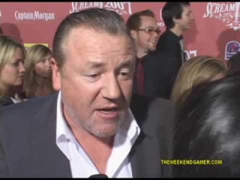 Ray Winstone (Beowulf) @ 2007 Scream Awards
