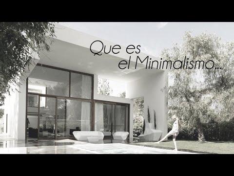 El Minimalismo - en la Arquitectura