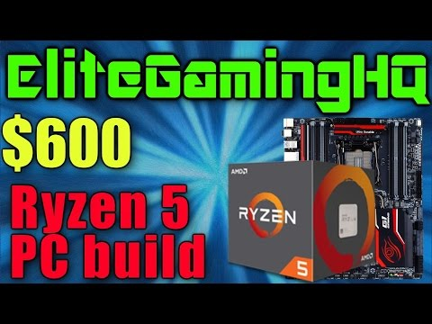 Ryzen 5 PC build under $600 My Ryzen 5 Gaming Computer 1400 1500x 1600 1600x