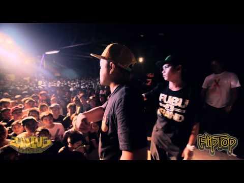 Fliptop - M Zhayt shernan Vs Thike g-clown video