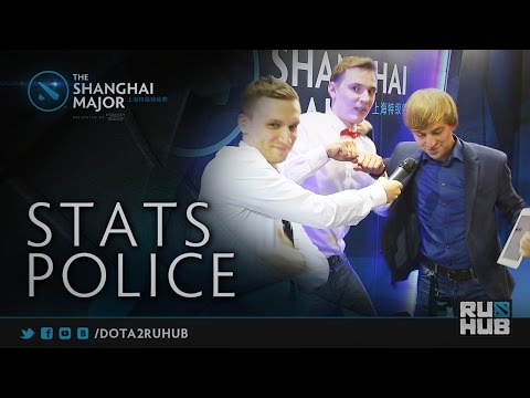Stats Police @ The Shanghai Major