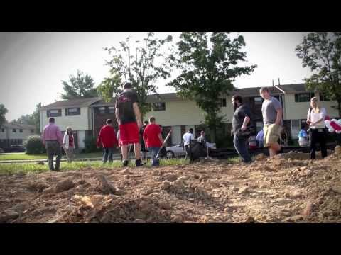 Jeffersonville High School Building Trades Program Groundbreaking