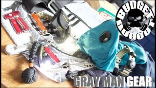 Gray Man EDC (Everyday Carry) Gear 2017 | Practical, NOT Tactical -- Budget Bugout