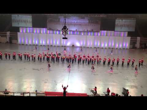 Bowen Military Band - SingaporeYouth Festival Opening Ceremony 2012