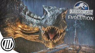 Jurassic World Evolution: Creating Indoraptor & Carnotaurus | FALLEN KINGDOM DLC