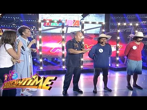 Its Showtime: PNP Chief General Bato plays in TrabaHula