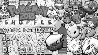 Pokémon Shuffle: octubre 16 a 22 [actualización 42 (2018) / semana 12] | Shonen JohnP