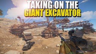 TAKING On The GIANT EXCAVATOR (Rust)
