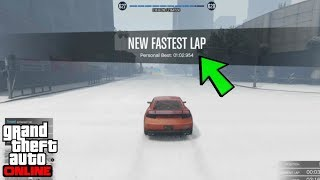 SETTING A BEST LAP IN THE SNOW?! | GTA 5 Online Racing | 86