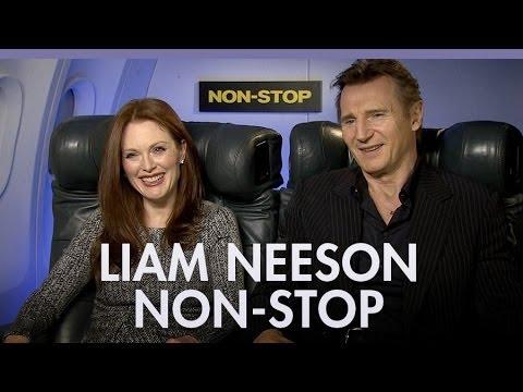 Liam Neeson, Julianne Moore & Michelle Dockery 'Non-Stop'
