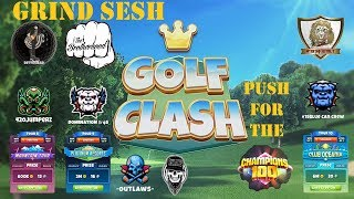 Golf Clash - T8, T9 & T10 Grind and Push to C100