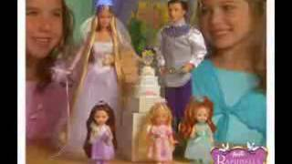 Barbie Rapunzel Bride Commercial German