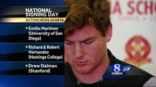 Local Athletes Prepare for College Sports on National Signing Day