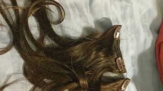 Remy Clip in Hair Extensions  Review