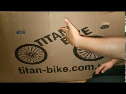 Велосипед Titan Egoist на гидравлике ч1