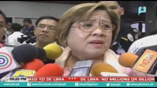De Lima No millions or billions in bank accounts
