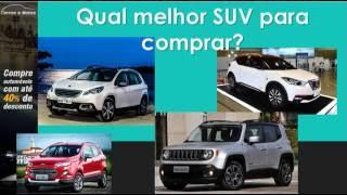 Qual melhor SUV para comprar?