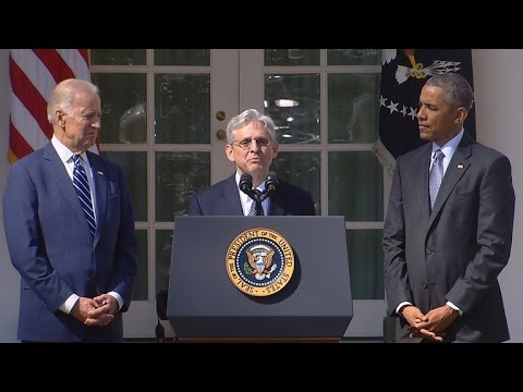 Special Report: President Obama announces Merrick Garland as Supreme Court nominee