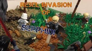 HUGE Lego Star Wars MOC: Rebel Invasion of Serphidi