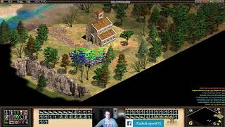Age of Empires II - ALARIC: ALL ROADS LEAD TO A BESIEGED CITY: PART 1 5/9/18