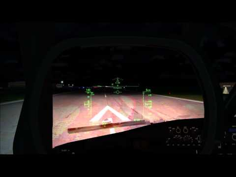 PMDG 737 NGX Night VFR Departure Demo