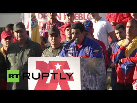 Venezuela: Maduro imposes 'anti-terrorist' sanctions against US