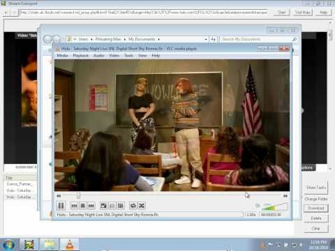 Video Tutorial - How To Download Any Streaming Video Using StreamTransport (Hulu, YouTube)